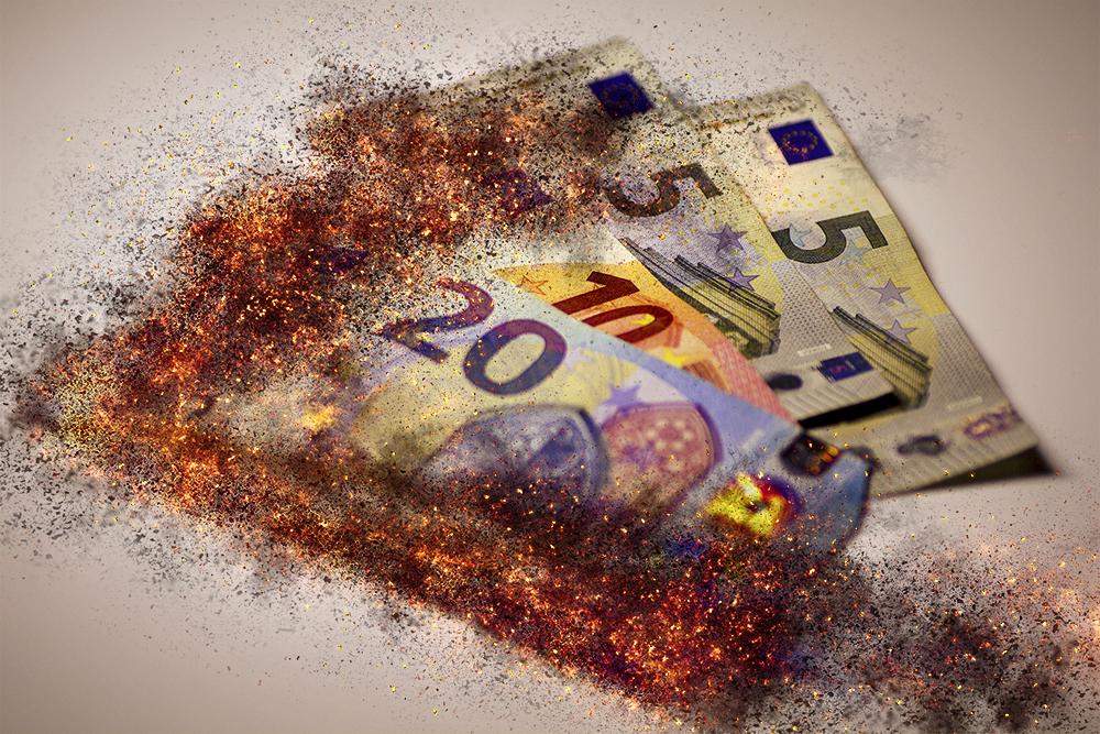 Gefahren für Geldwerte